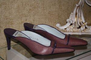 Audley Hoge hakken sandalen braambesrood-bruin-paars