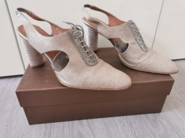 Audley Lace-up Pumps light grey-grey brown