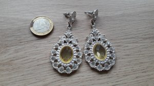 Auffällige Statement Ohrhänger Ohrringe Royal Luxus