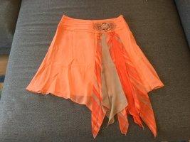 bebe Midi Skirt orange-grey