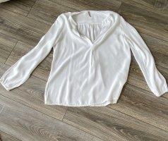 Ausgefallene Bluse in weiß von Please