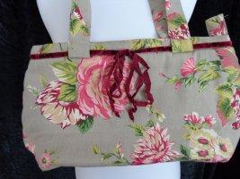 Ausgefallene Stofftasche, Blumenmuster, ungetragen