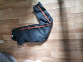 Sublevel Pantalone elasticizzato grigio-arancione