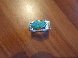 Ausgefallener Damenring Gr 58 925