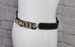 Braided Belt multicolored mixture fibre