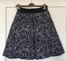 COS Mini-jupe bleu foncé polyester