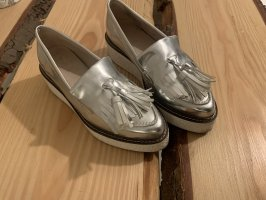 Zign Slippers silver-colored