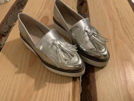Zign Zapatos formales sin cordones color plata