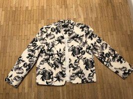 Topshop Short Blazer multicolored cotton