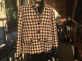 Aust Krótka kurtka czarny-różany Wiskoza