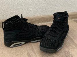 Air Jordan Sznurowane trampki czarny-błękitny
