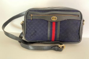 Gucci Handbag slate-gray-red