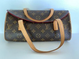 Authentic Louis Vuitton Monogram Sonatine Handbag purse