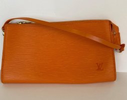 Authentic Louis Vuitton Pochette Mandarin Epi Handbag