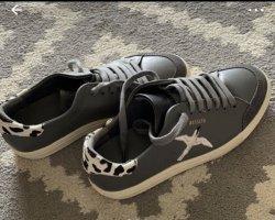 Axel Arigato Sneakers met veters grijs