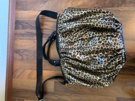 B. Cavalli Beuteltasche Leoparden Look