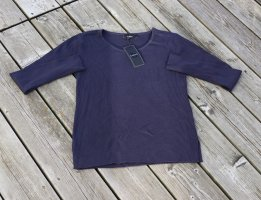 B.young Crewneck Sweater blue mixture fibre