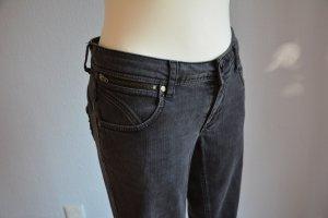 B.young Jeans cigarette noir