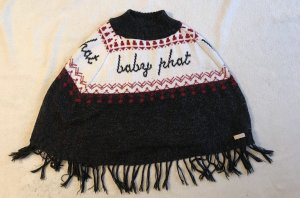 Baby Phat Ponczo z dzianiny Wielokolorowy