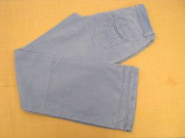 Babykordjeans Schlaghose Jeans Größe 42 Feinkord Hose Blau