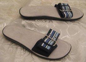 Sandalias de playa azul
