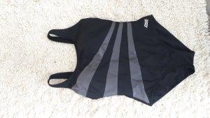 Zwempak zwart-grijs