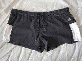 Adidas Szorty kąpielowe biały-czarny