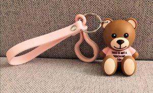 Moschino Porte-clés brun-rose