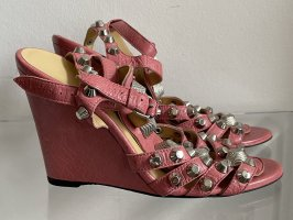 Balanciaga Sandale rosa Gr. 38