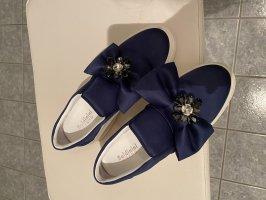 Baldinini Buty wciągane niebieski