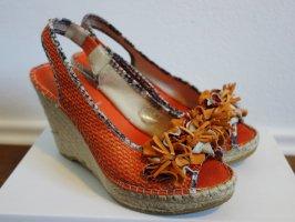 Baldinini Sandalo a zeppa arancione