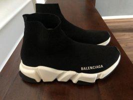 Balenciaga Basket montante noir-blanc
