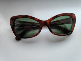 Balenciaga Butterfly bril veelkleurig kunststof