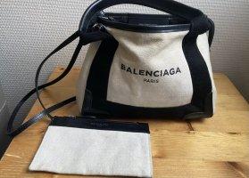 Balenciaga Bolso crema-negro