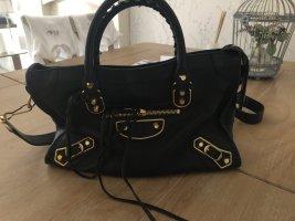 Balenciaga Satchel black leather