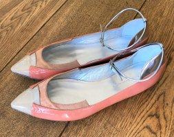 Balenciaga Ballerina's met bandjes veelkleurig Leer