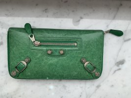 Balenciaga Wallet forest green-grass green