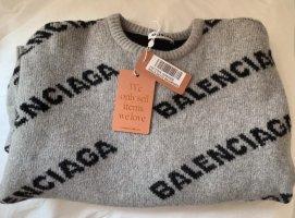 Balenciaga Maglione di lana multicolore