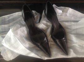 Balenciaga Stiletto noir cuir