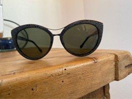 Balenciaga Gafas de sol redondas negro-gris oscuro