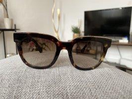 Balenciaga Ovale zonnebril veelkleurig