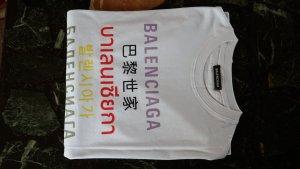 Balenciaga T-shirt nero Cotone