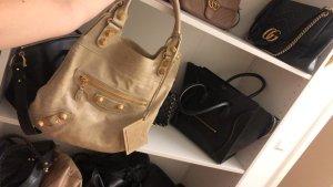 Balenciaga Shopper cream leather