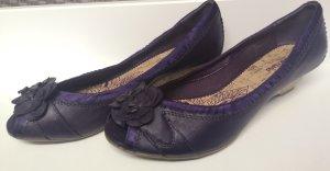 Graceland Ballerina aperta sul tallone marrone-viola-viola