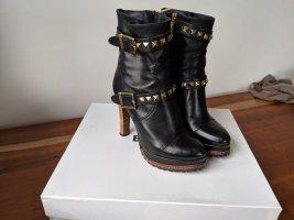 Balidinini Trend Stiefellette in schwarz und gold