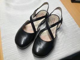 Seidel Ballerina's met bandjes zwart