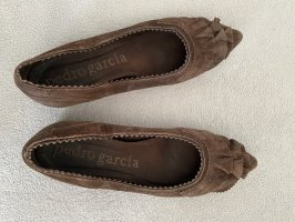 Pedro garcia Mary Jane Ballerinas dark brown