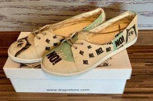 DOGO Chaussures à lacets beige clair-crème