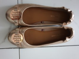 Tommy Hilfiger Patent Leather Ballerinas nude