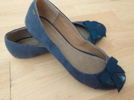 Esprit Mary Jane Ballerinas blue-steel blue